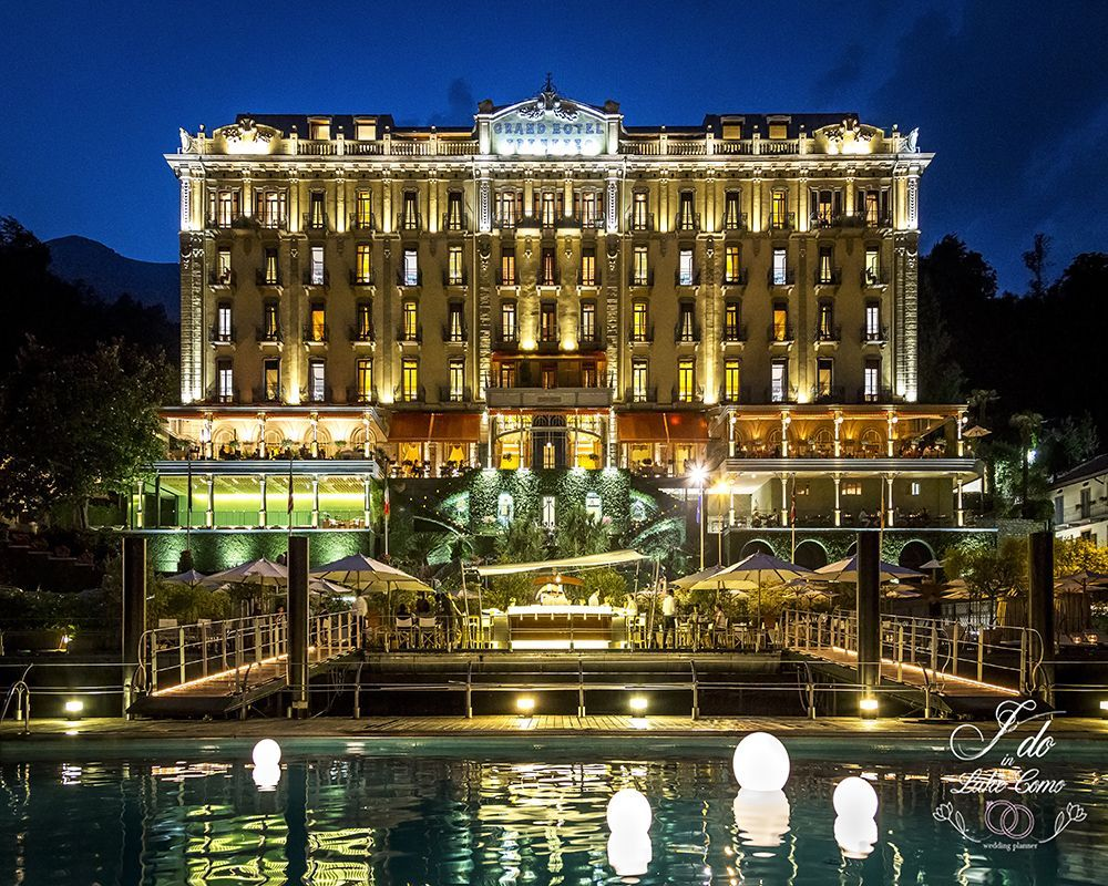 Grand Hotel Tremezzo wedding venue on lake Como